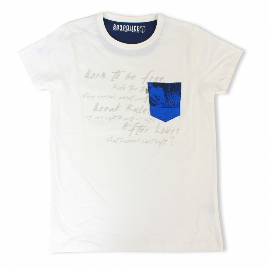 Story Off White Graphic Soft Cotton T Shirt