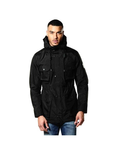 Card Black Four Pocket Functional Jacket