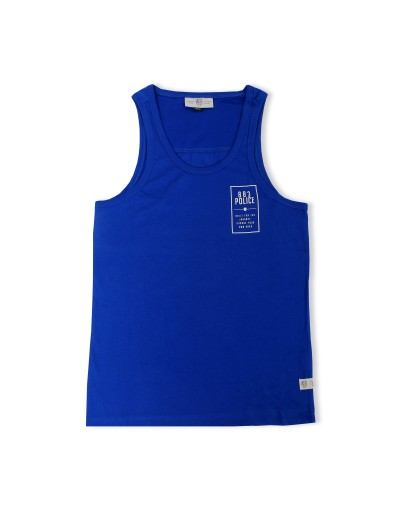 Cardinal Electric Blue Vest Top