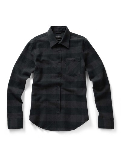 Cyprez Black Check Casual Flirt Shirt
