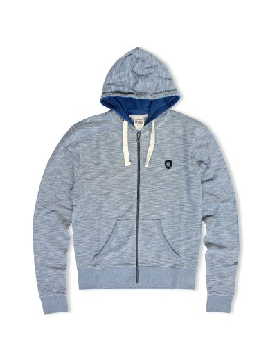 Exco Stellar Blue Soft Cotton Hooded Sweatshirt
