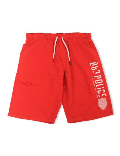 Foster Red Classic Swimshorts