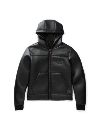 Franix Long Sleeved Black Jacket