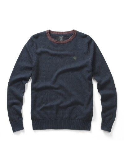 Grand Eclipse Navy Long Sleeved Knitwear