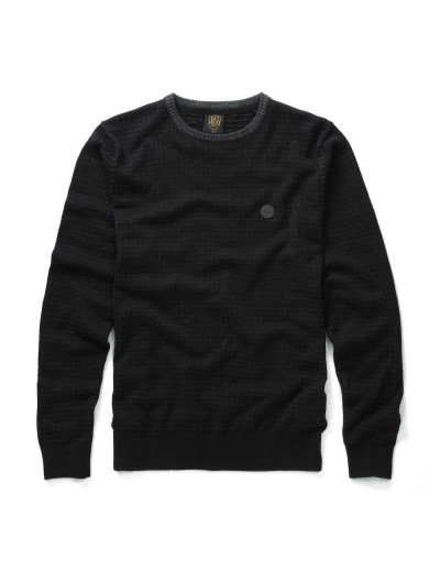 Grand Black Long Sleeved Pull Over Knitwear