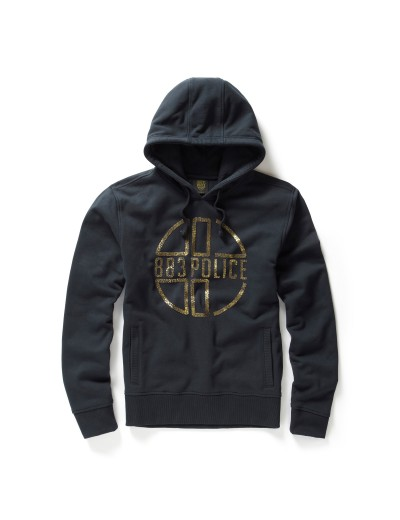 Graphite Eclipse Navy Hooded Sweatshirt