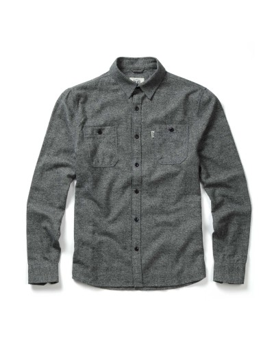 Tiger Grey Slim Fit Casual Long Sleeved Shirt