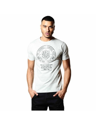 Heritage Marl Grey Men's T-Shirt