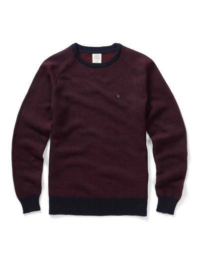 Holt Red Pullover Knitwear