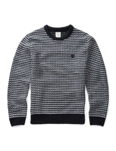 Kings Eclipse Navy Long Sleeved Knitwear
