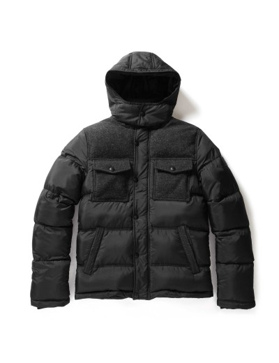 Mead Puffer Black Jacket
