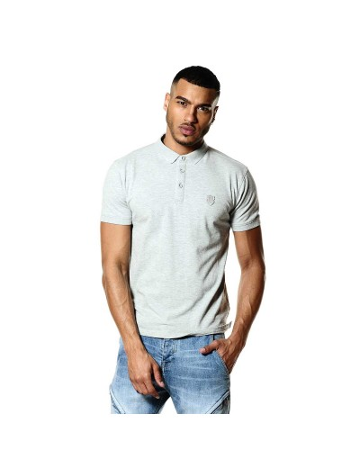 Mellor Marl Grey Stylish Polo Shirt