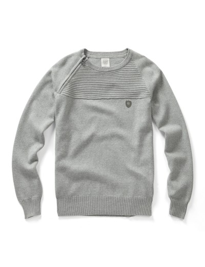 Morgan Marl Grey Pullover Knitwear