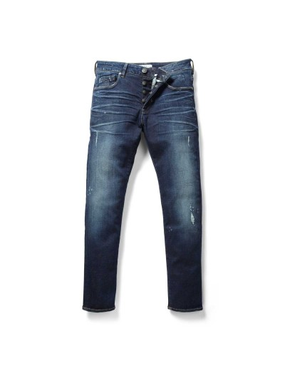 Moriarty LA 359 Slim Activeflex Blue Faded Wash Stretch Jeans