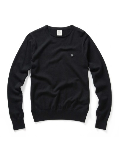 Muraco Black Long Sleeved Pullover Knitwear