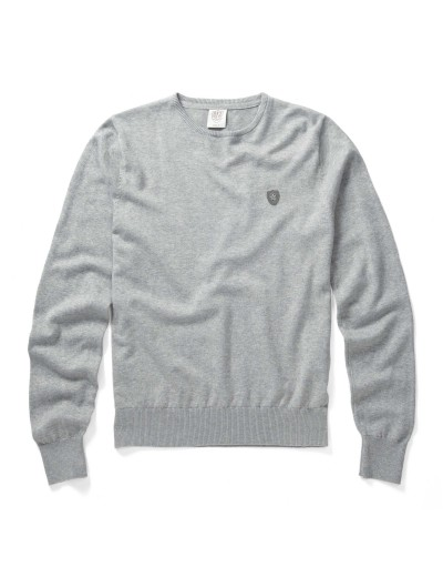 Muraco Marl Grey Long Sleeved Pullover Knitwear