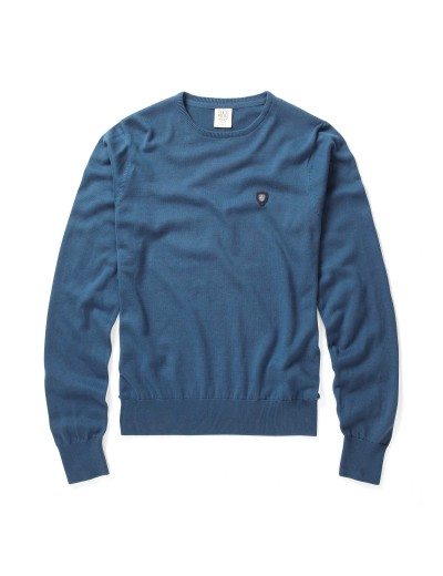 Muraco Stellar Blue Long Sleeved Pullover Knitwear