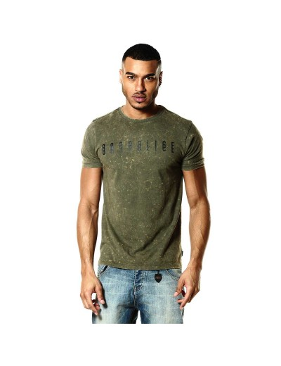 Nanook Military Green Graphic Mens T Shirt