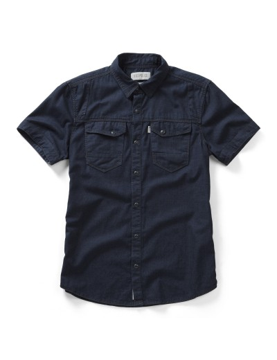 Oblivion 291 Casual Denim Short Sleeved Shirt