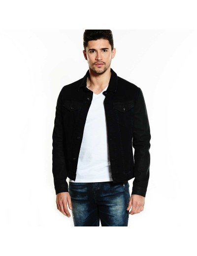 Ranger 309 Two-toned Dark Blue/Black Casual Denim Jacket