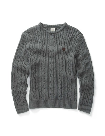Secret Marl Grey Long Sleeved Knitwear