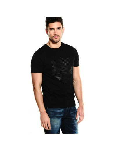 Spartan Contemporary Black T-Shirt