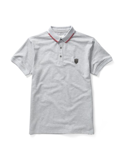 Sway Marl Grey Stylish Polo Shirt