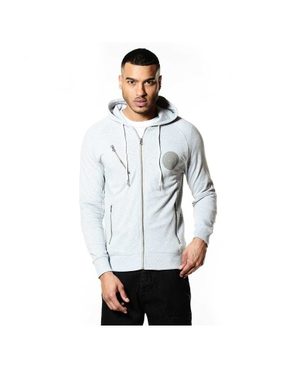 Todd Marl Grey Casual Sweatshirt