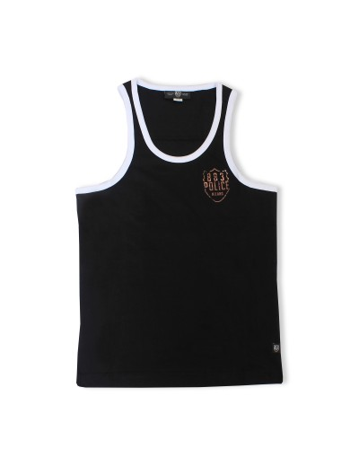 Vapour Mens Black Stylish Vest