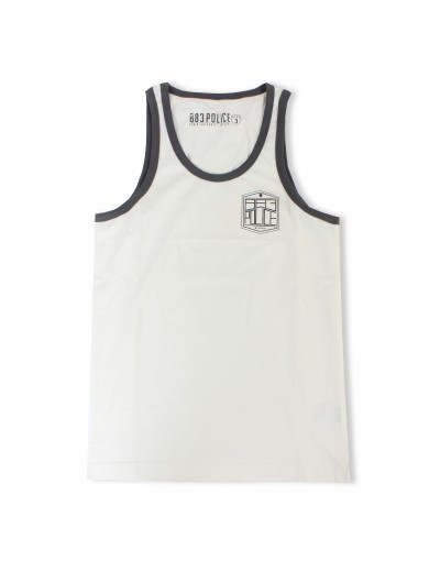 Fiden Off Men's White Vest