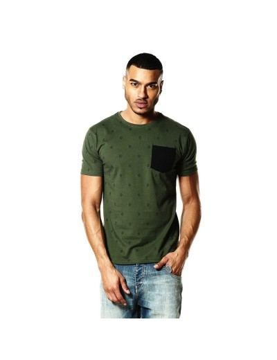 Viking Military Inspired Green-T-Shirt