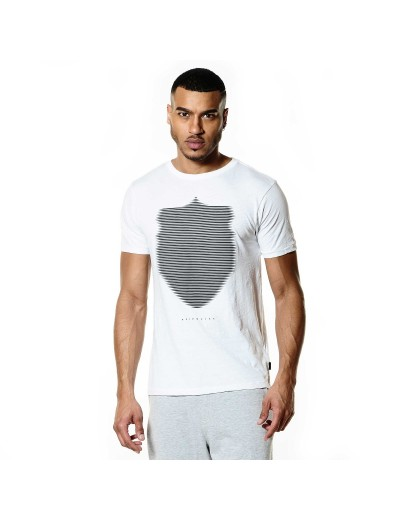 Wolf White Graphic Mens T Shirt